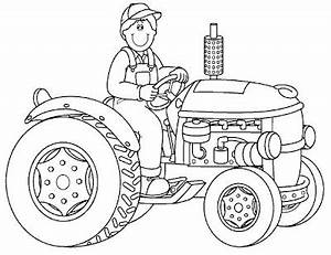 Drawing tractor, backhoe and excavator coloring ...