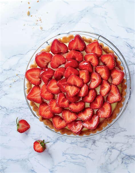 decoration tarte aux fraises
