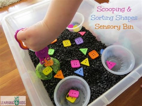 list  sensory play activities ideas learning  kids