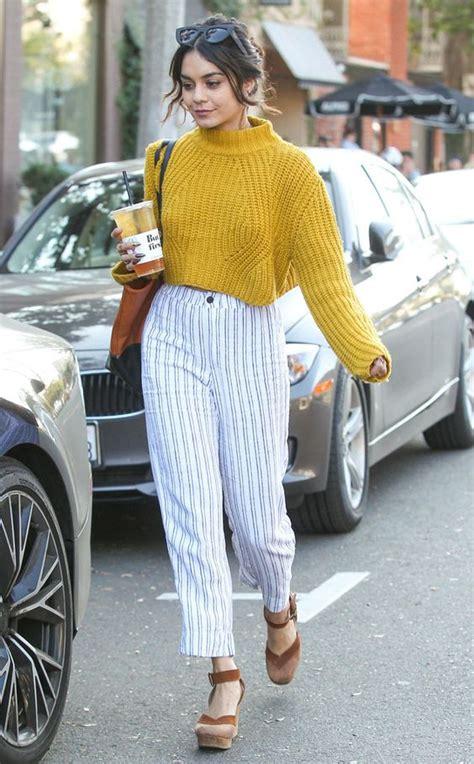 slit sweater hitam 12 style kece ala hudgens mulai dari edgy