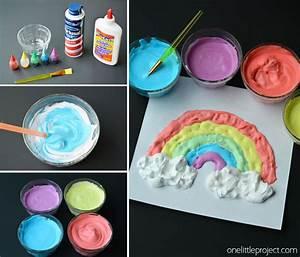 voici comment faire de la peinture gonflante pour vos With faire de la peinture maison
