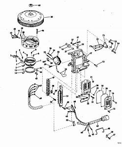 Evinrude Ignition System Parts For 1975 50hp 50573b
