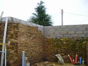 Cout Mur Parpaing : comment rehausser un mur en parpaing construction maison b ton arm ~ Dode.kayakingforconservation.com Idées de Décoration