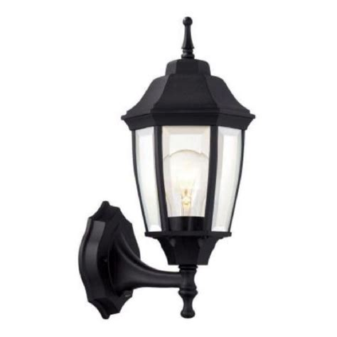 outdoor exterior patio black wall light lighting lantern