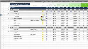 smartsheet With online marketing campaign template