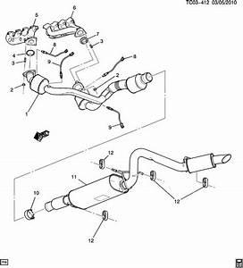 Gmc Sierra 2500 Insulator  Exhaust Muffler  Resonator