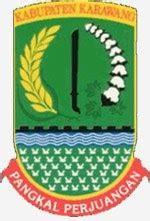 blog simple arti lambang kabupaten karawang