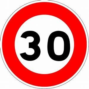 Limitation Vitesse France : fichier france road sign b14 30 svg wikilivres ~ Medecine-chirurgie-esthetiques.com Avis de Voitures