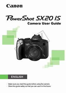 Canon Powershot Sx20 Is User Manual Pdf Download