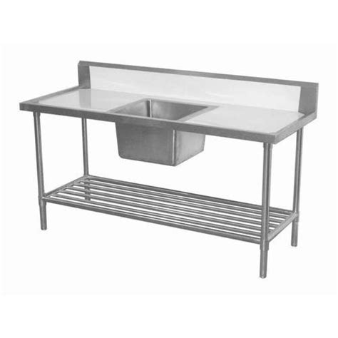 stainless steel kitchen table  sink zn fabrication