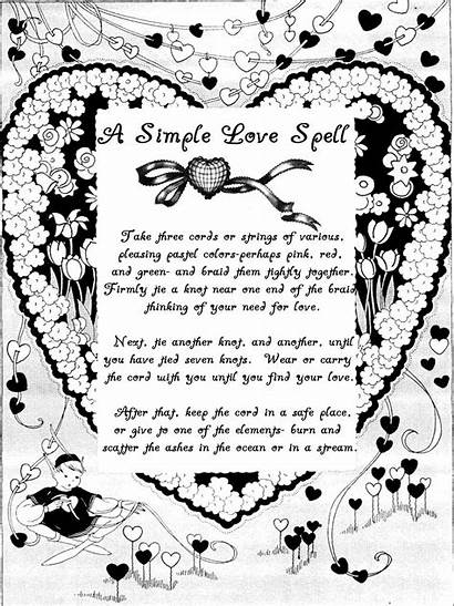 Spells Spell Simple Magick Wiccan Witchcraft Wicca