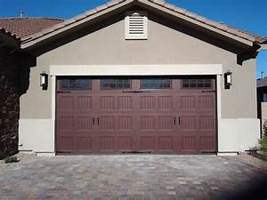 awesome two car garage doors that will inspire you homesfeed With 2 stall garage door