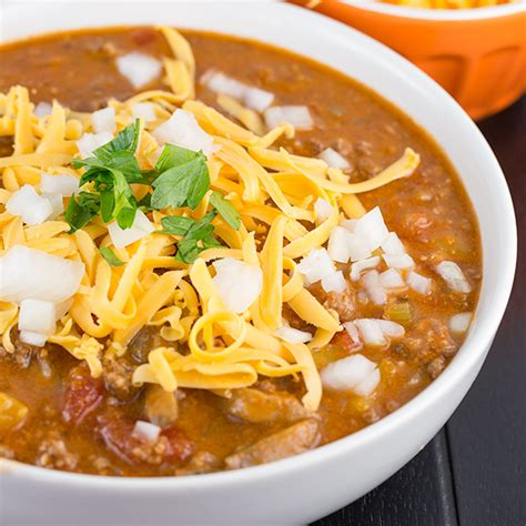 Low Carb Beanless Chili Recipe