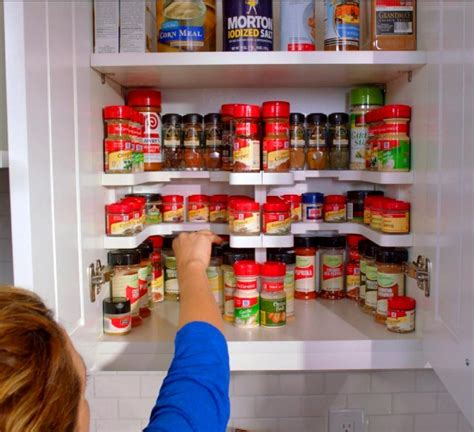 How To Organize Spices In Cupboard by Spicy Shelf Helps Organize Spice Cabinets Medicine