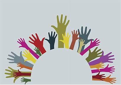 Hands Circular Stronger Together Clip Adult Illustrations