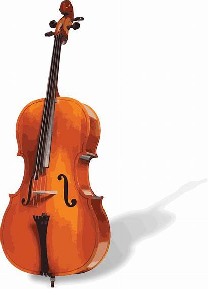 Cello Transparent Clipart Background Cartoon Clip Drawing