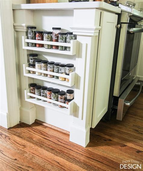 Spice Rack Storage System by Easy Built In Spice Rack Bekvam Ikea Hack Hometalk