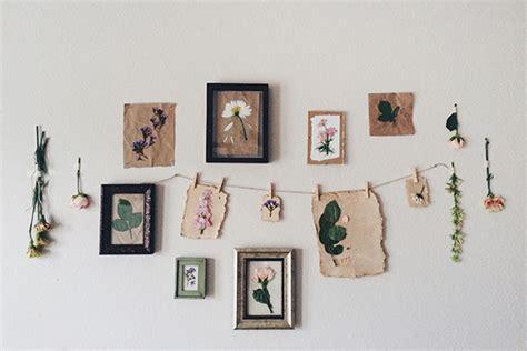 diy pressed flower prints