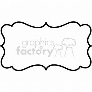Royalty-Free lines frame swirls boutique sign design