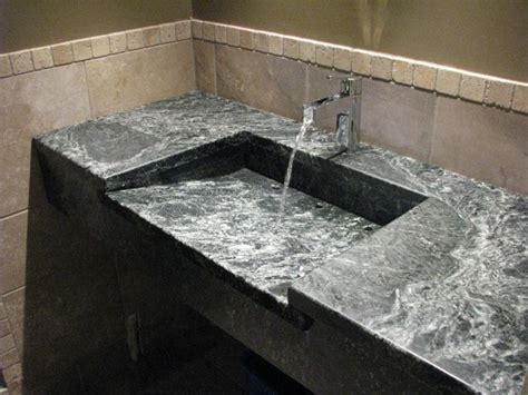 Soapstone Bathroom Countertop by Soapstone Sinks Transitional Bathroom Philadelphia
