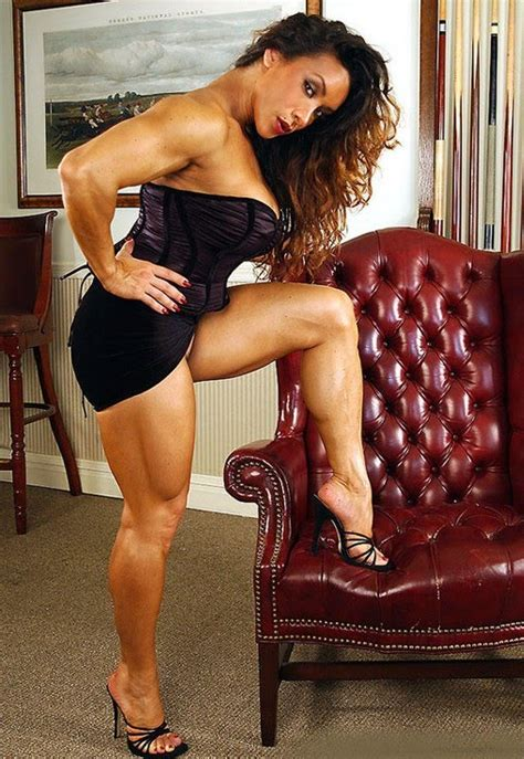 muscular womens dressed denise masino