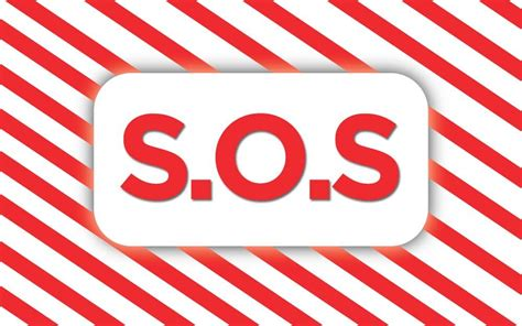 SOS: Here's What the Abbreviation Actually Means | Sos ...