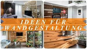 Wandgestaltung Ideen Wohnzimmer : ideen moderne wandgestaltung wohnzimmer youtube ~ Yasmunasinghe.com Haus und Dekorationen