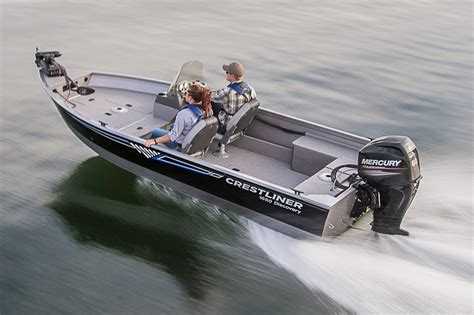 Aluminum Boats For Sale In Sc by 2016 New Crestliner Aluminum Fish Boat Aluminum Fishing