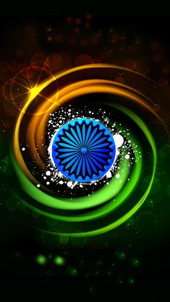 India Flag for Mobile Phone Wallpaper 8 of 17 - Tiranga in