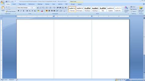 free microsoft word brochure templates tri fold blank tri fold brochure template www pixshark com