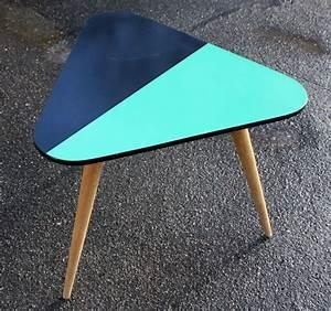 Table Basse Année 50 : broc co tables basse formica tripode table basse vintage ann es 50 60 ~ Teatrodelosmanantiales.com Idées de Décoration