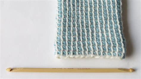 double ended crochet hook tunisian crochet