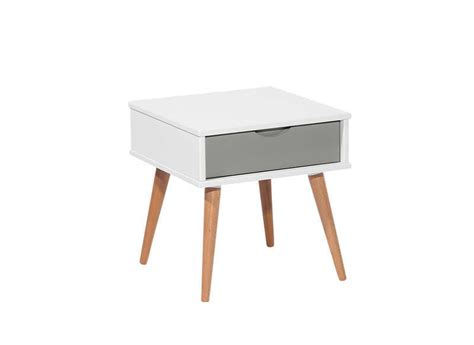 table bureau pas cher table de chevet scandinave blanc kennedy chevet chambre