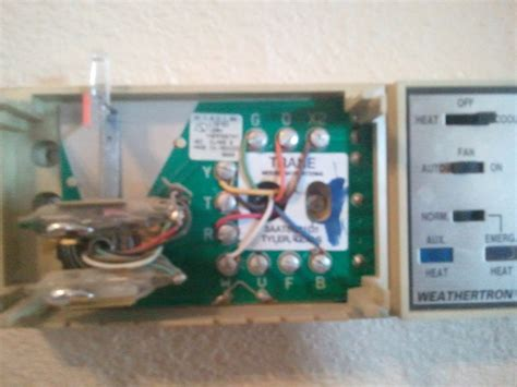 want to replace an 3aat86b1d1 thermostat trane