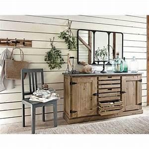 bureau industriel maison du monde bureau industriel With meuble cuisine maison du monde 3 console meubles et decoration tunisie