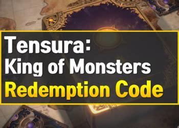 King of monsters baru saja dirilis di asia tenggara pada 26 januari 2021. Redeem Code Tensura Terbaru - Gift Codes Archives Op ...