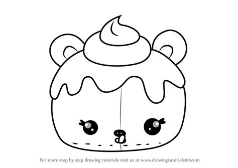 Learn How To Draw Candie Puffs From Num Noms (num Noms