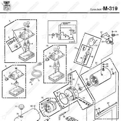 Monarch Wiring Diagram by Monarch Hydraulics M 319 Parts Diagram From Dynamics