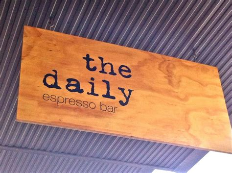 """Choosing a coffee shop name and logo is quite a process. signage - like this idea for whatever name we come up with """"the wednesday coffee bar"""" or ..."""