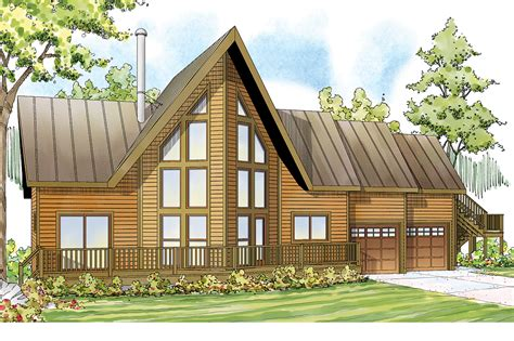 A Frame Style House Plans by A Frame House Plans Boulder Creek 30 814 Associated