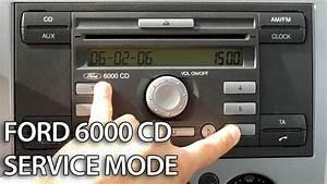 Code Autoradio Ford : how to enter service mode in ford 6000 cd radio unit c ~ Mglfilm.com Idées de Décoration
