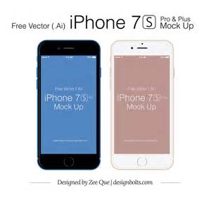 Plus 7 Free iPhone Mockup