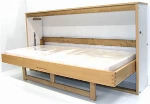 Lit Bois Massif Ikea : lit escamotable ~ Teatrodelosmanantiales.com Idées de Décoration