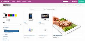 how to customize my catalog page odoo 100 documentation With odoo website builder documentation