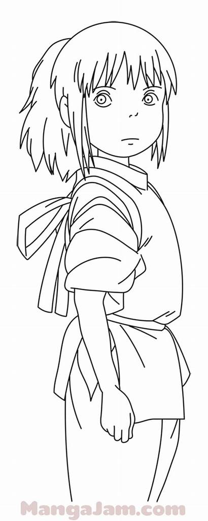 Spirited Away Chihiro Draw Ogino Drawing Mangajam
