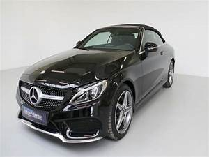 Mercedes Classe C Essence : mercedes classe c 200 cabriolet essence occasion de couleur noir metallis e en vente chez le ~ Maxctalentgroup.com Avis de Voitures