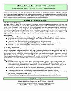 Cover Letter Examples Executive Assistant Grocery Store Manager Resume