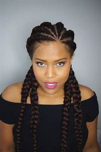 51 Latest Ghana Braids Hairstyles With Pictures