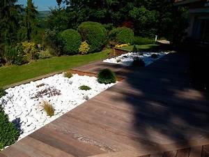 amenagement piscine en bois piscine extrieur exemples With good amenagement autour piscine bois 12 exotique paysage