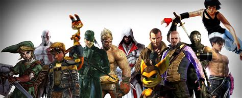 Famous Game Heroes 4242201 4613x1883 All For Desktop